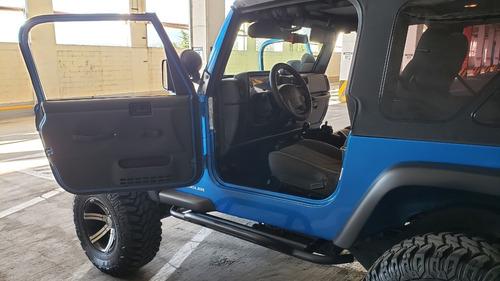 jeep wrangler x 2003 6 cilindros 4.0 litros muchos extras
