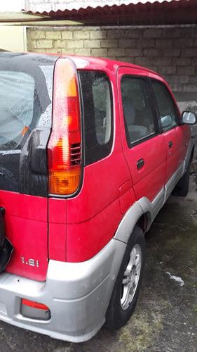 jeep zotye nomada rojo 1600cc 4x2