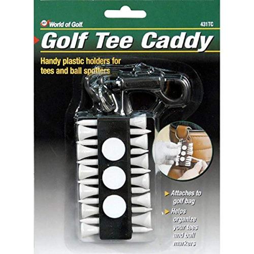 jef world of golf regalos y galería, inc. tee caddy  verde