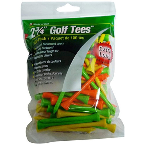 jef world of golf tee   paquete de 100 ,