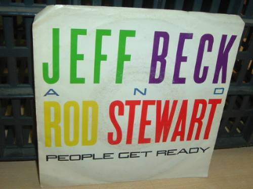 jeff beck rod stewart people get ready simple c/tapa import