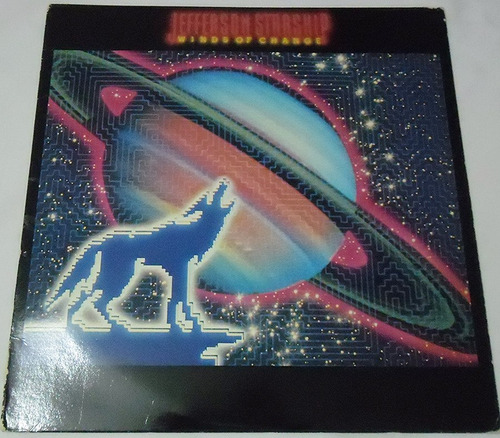 jefferson starship - winds of change - lp importado 1982