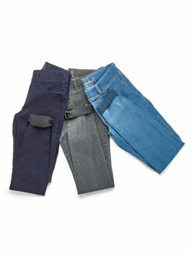 jeggings con bolsillos traseros