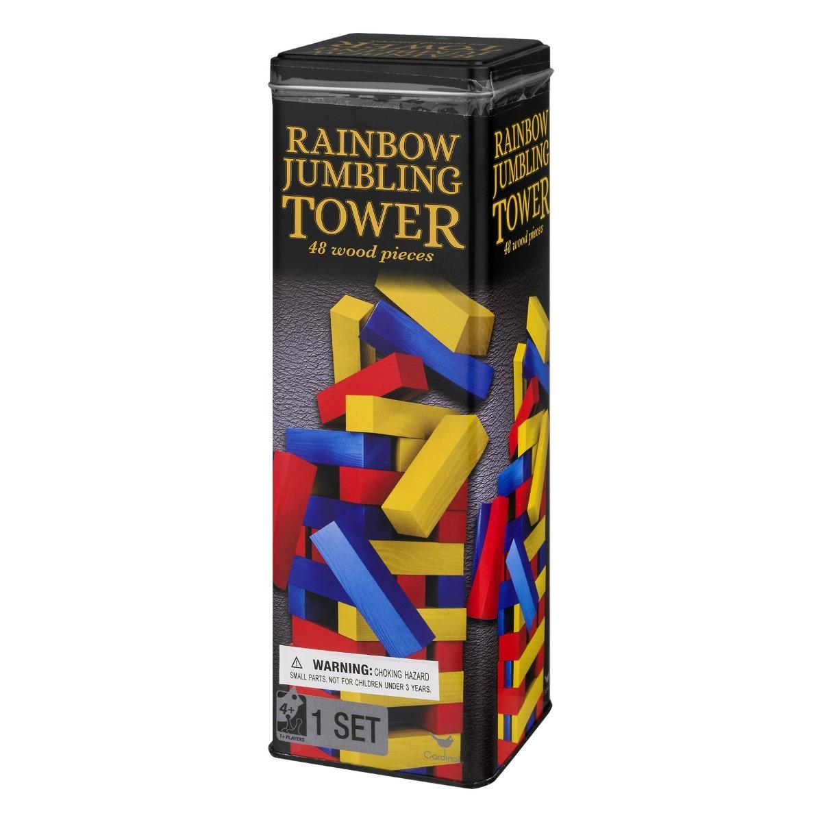 Jenga 3 Colores Juego De Mesa Madera Para Ninos Y Adultos 349 00