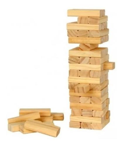 jenga gigante familiar 45 piezas yenga, juego, env/gratis
