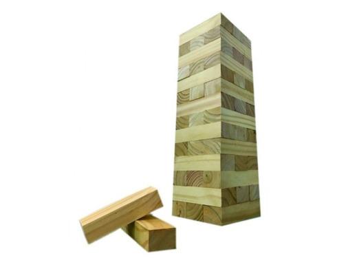 jenga gigante juguete yenga madera enorme excelente