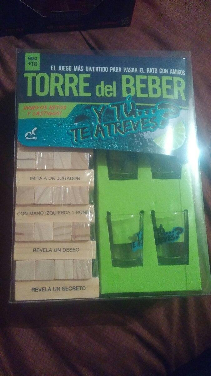 Jenga Torre Del Beber Retos Y Castigos 289 00 En Mercado Libre