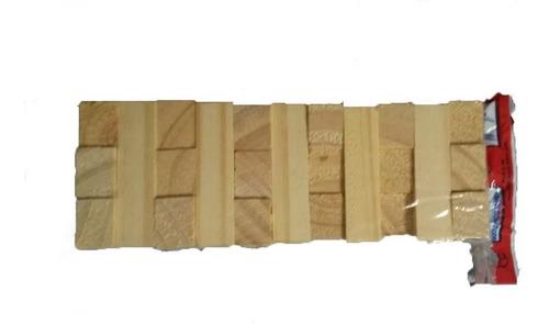 jenga yenga juego de ingenio y habilidad de madera 33 pzas