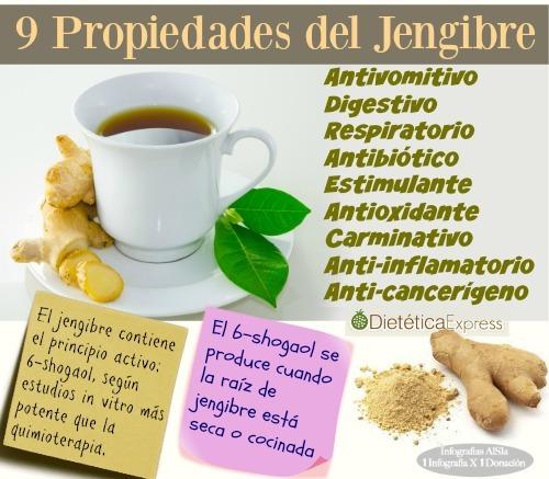 jengibre para adelgazar y para la salud (en polvo)