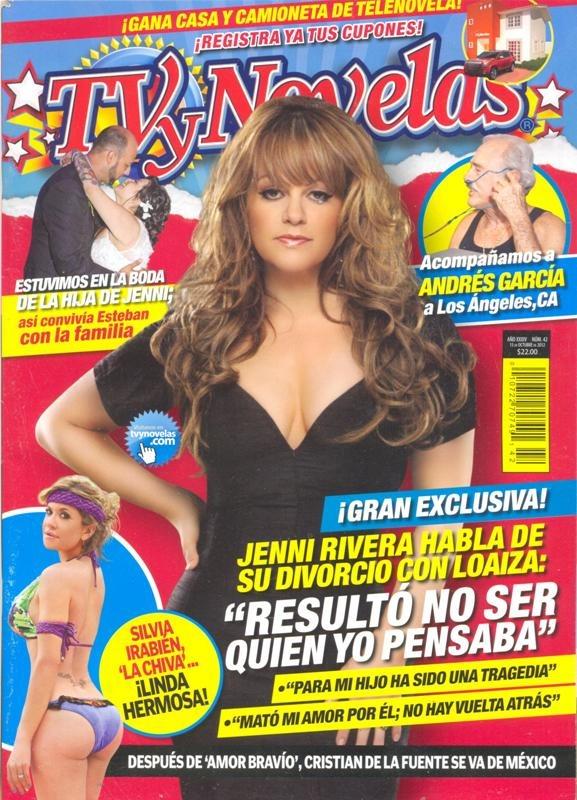 Jenni Rivera En Revista Tv Y Novelas - $ 50.00 en Mercado