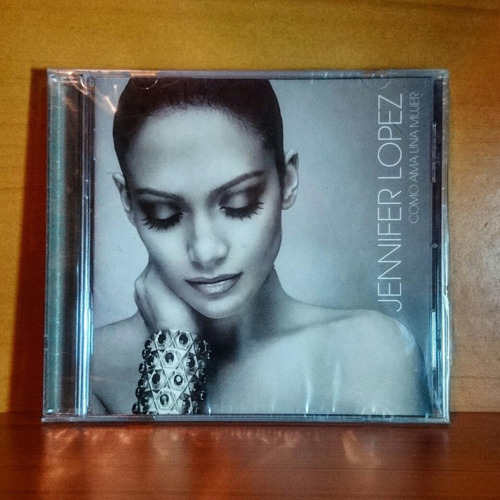 jennifer lopez como ama una mujer cd original nuevo sellado