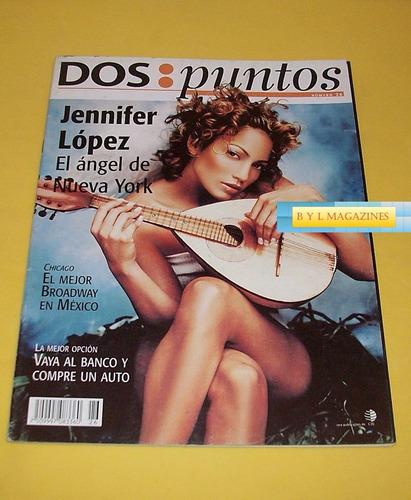 jennifer lopez revista dos puntos 2001