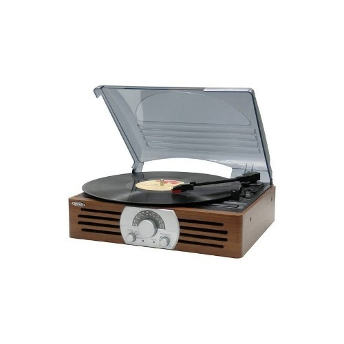 jensen - stereo 3-velocidad de la placa giratoria - marrón