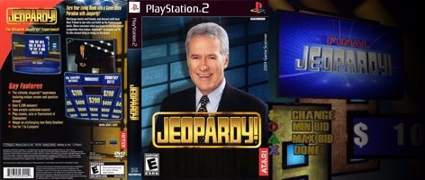 jeoaprdy - atari - fisico - solo el dvd /  playstation 2 ps2