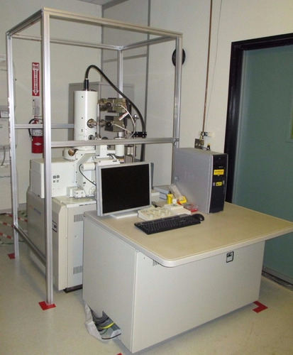 jeol jsm 7000f sem campo emisión microscopio electrónico