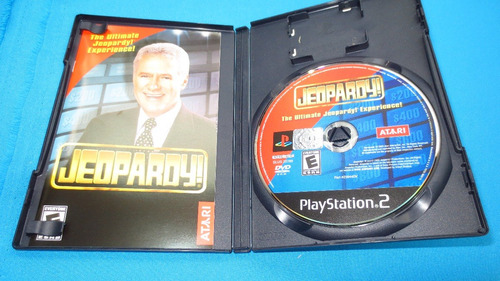 jeopardy! ps2 **cd en excelente estado**
