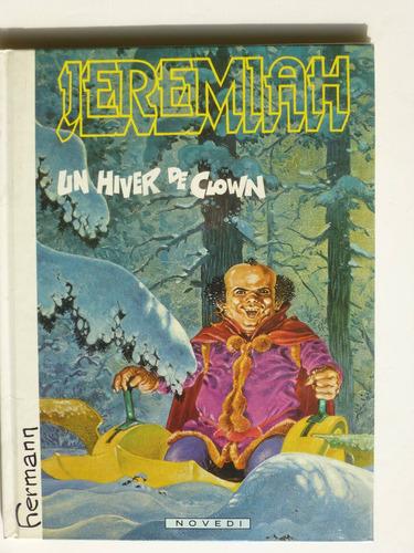 jeremiah, un hiver de clown, bd en francés.