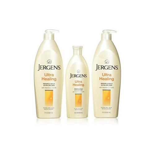 jergens (paquete de 3) ultra healing moisturizer (52 fl oz)