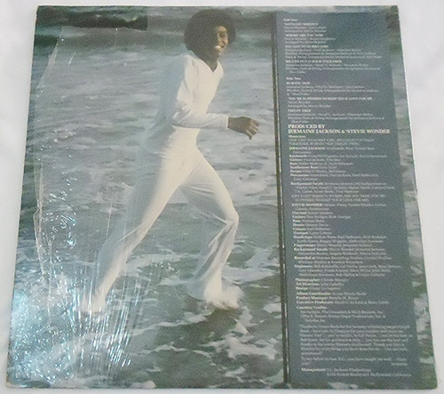 jermaine jackson - let´s get serious - lp importado 1980