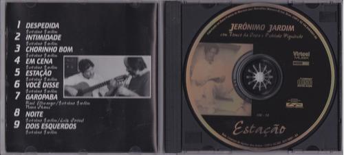 jerônimo jardim - cd estação - seminovo