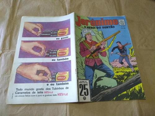 jerônimo o herói do sertão nº 91 - anos 60 rio gráfica raro