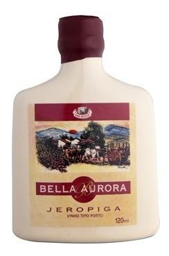 jeropiga garrafa de ceramica branca 120ml - bella aurora