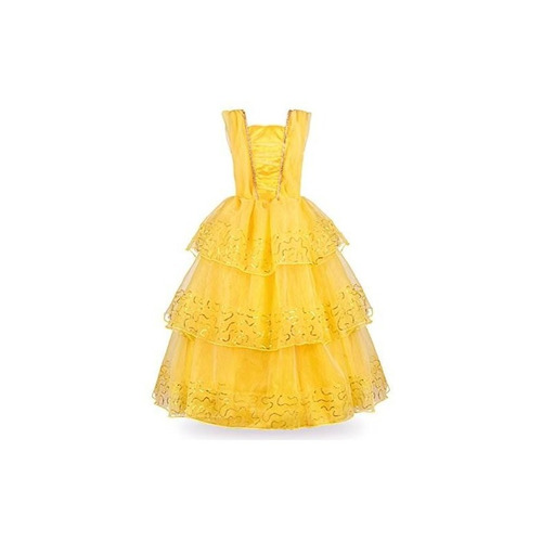 jerrisapparel princess belle disfraz de bola de lujo para ni