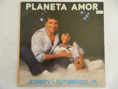 jerry adriani 1986 planeta amor /  nada existe sem você - lp