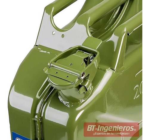 jerry can tanque gasolina jeep verde 20 lts