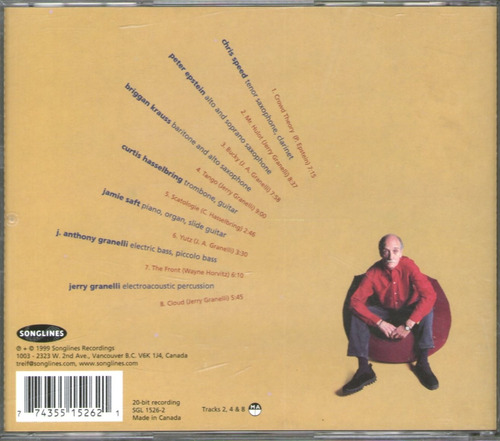 jerry granelli & badlands - crowd theory - cd