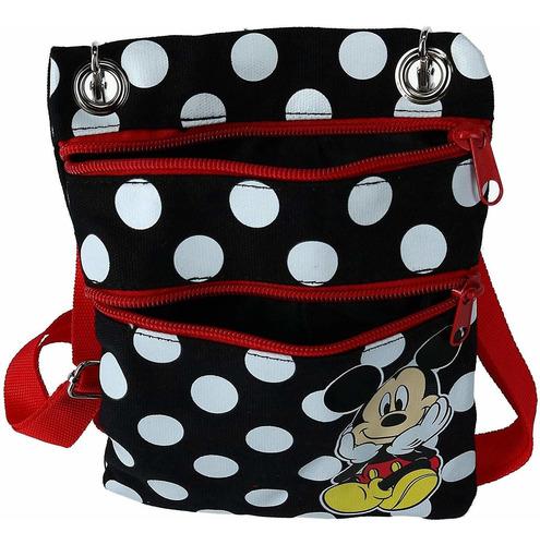 jerry leigh disney mickey mouse polka dot passport crossb
