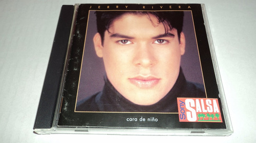 jerry rivera / album - cara de niño - cd sony salsa 1993