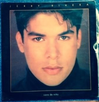 jerry rivera, cara de niño vinilo colombia 1993