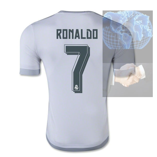 the latest 217af eaca9 Jersey #7 Ronaldo Real Madrid Blanca 2016 adidas Local Bale