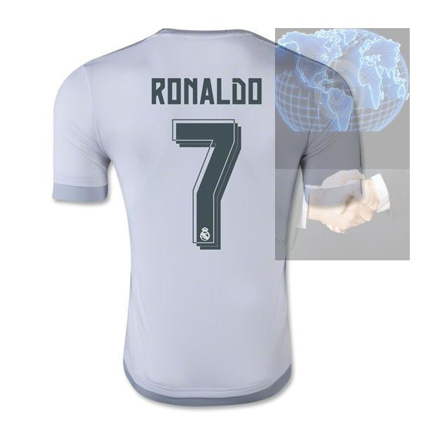 87997a8dff705 Jersey  7 Ronaldo Real Madrid Blanca 2016 adidas Local Bale ...