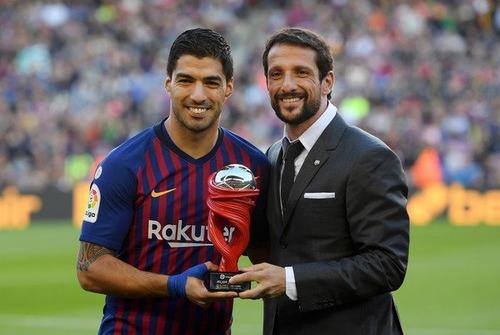 jersey #9 suarez barcelona roja azul nike 2019 local playera