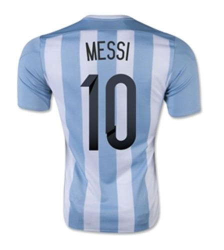 jersey adidas argentina copa america 2015 original c/num