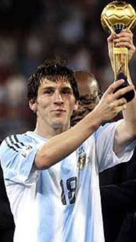 jersey adidas argentina messi campeon del mundo sub20