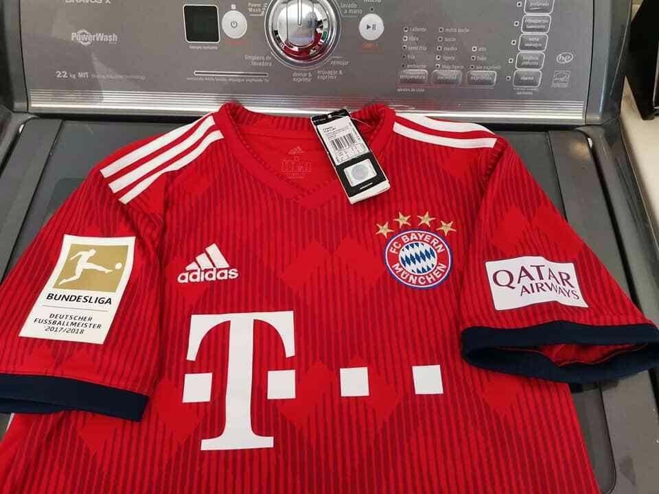 outlet store 345f3 b21b9 Jersey adidas Bayern Munich Local James 2018-19 Original