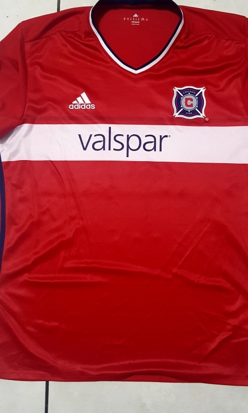 size 40 fa161 dade5 Jersey adidas Chicago Fire Mls