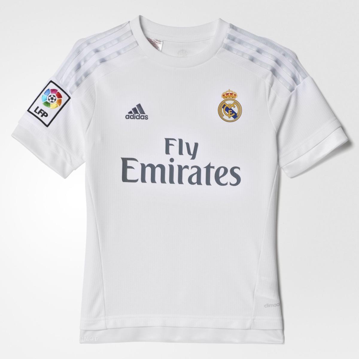 3ae0ba2d52d36 Jersey adidas Del Real Madrid Para Niño De Local -   489.00 en ...