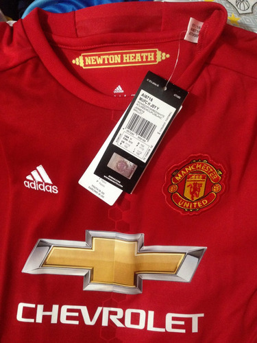 jersey adidas manchester united 100% original  oferta d niño