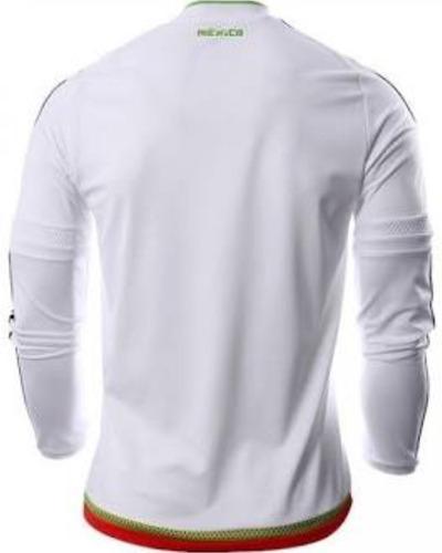 7be0e3734a42a jersey adidas méxico manga larga 2017 blanco envío gratis. Cargando zoom.