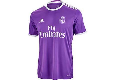 Jersey adidas Real Madrid 100% Original 2016-2017 Morada -   549.00 ... 6e1128d93e9f8