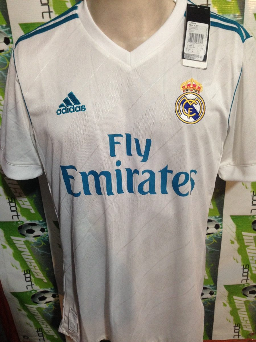 7ac7de039a271 Jersey adidas Real Madrid 100%original 2017-2018  no Clones ...
