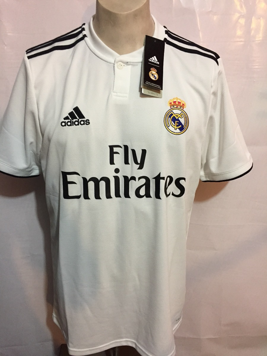 f9a0401b22933 jersey adidas real madrid 100%original 2018-2019 home dh3372. Cargando zoom.