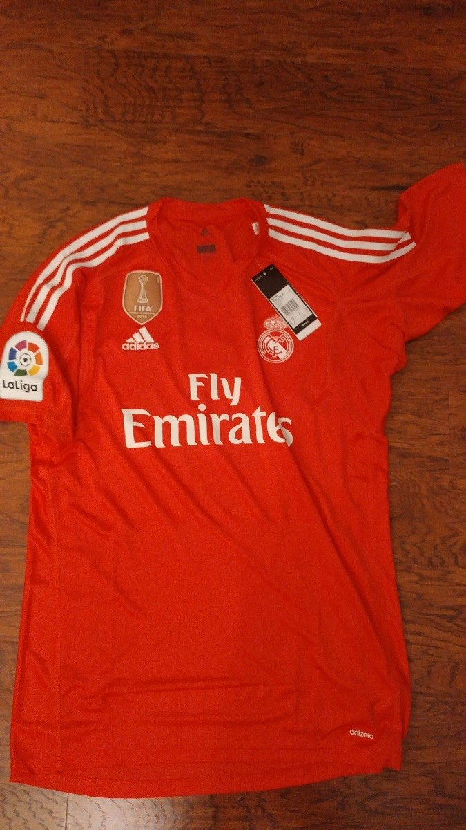 Jersey adidas Real Madrid 17-18 Portero Local Original C num ... 5a0a5b3a1caa8