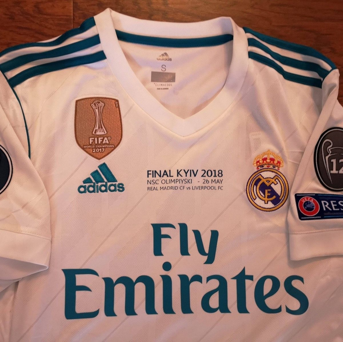 innovative design d0f19 f3ca4 Jersey adidas Real Madrid Champions Final Kiev 2018 Original