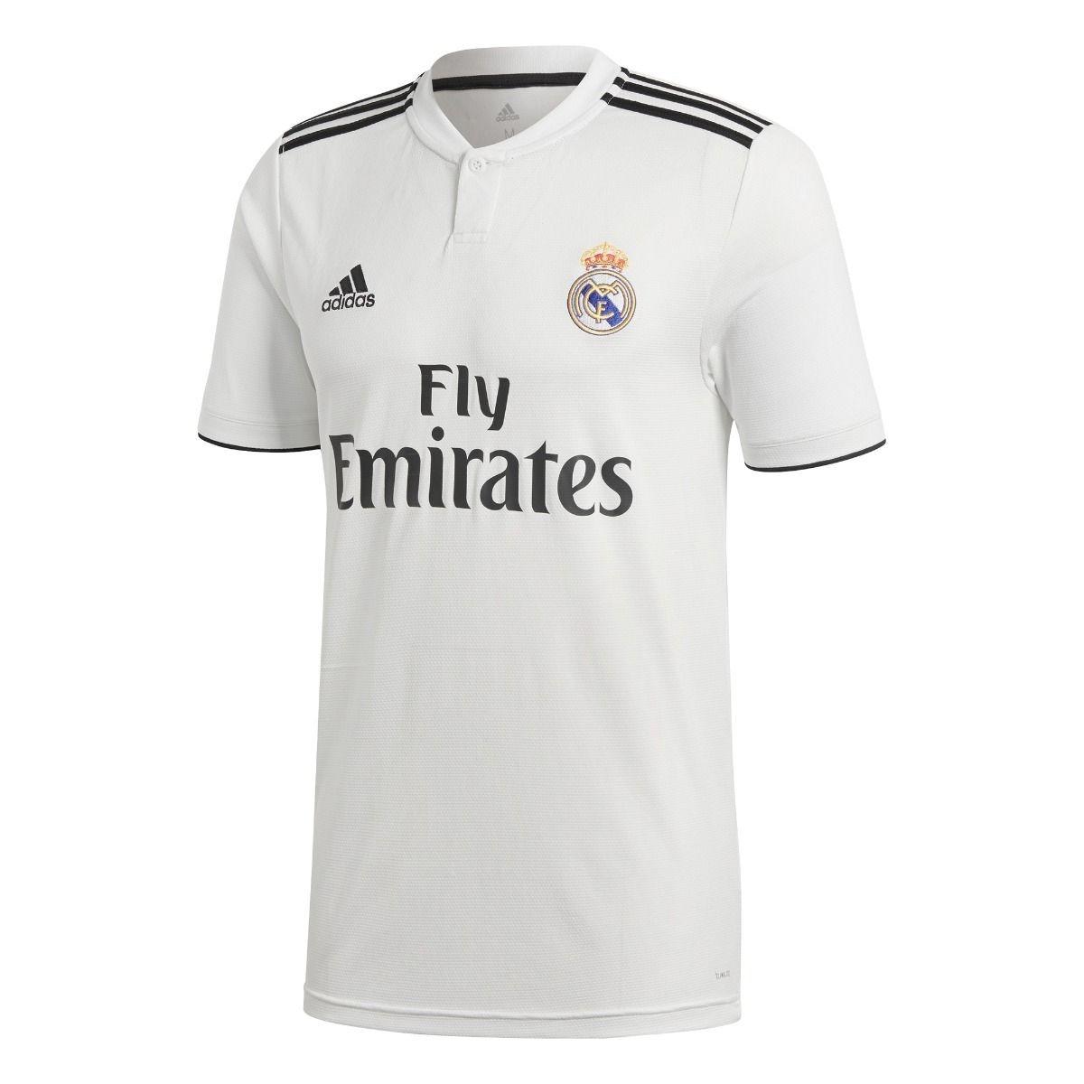 2dc0cb4298f0c jersey adidas real madrid local 2018 dh3372 réplica original. Cargando zoom.