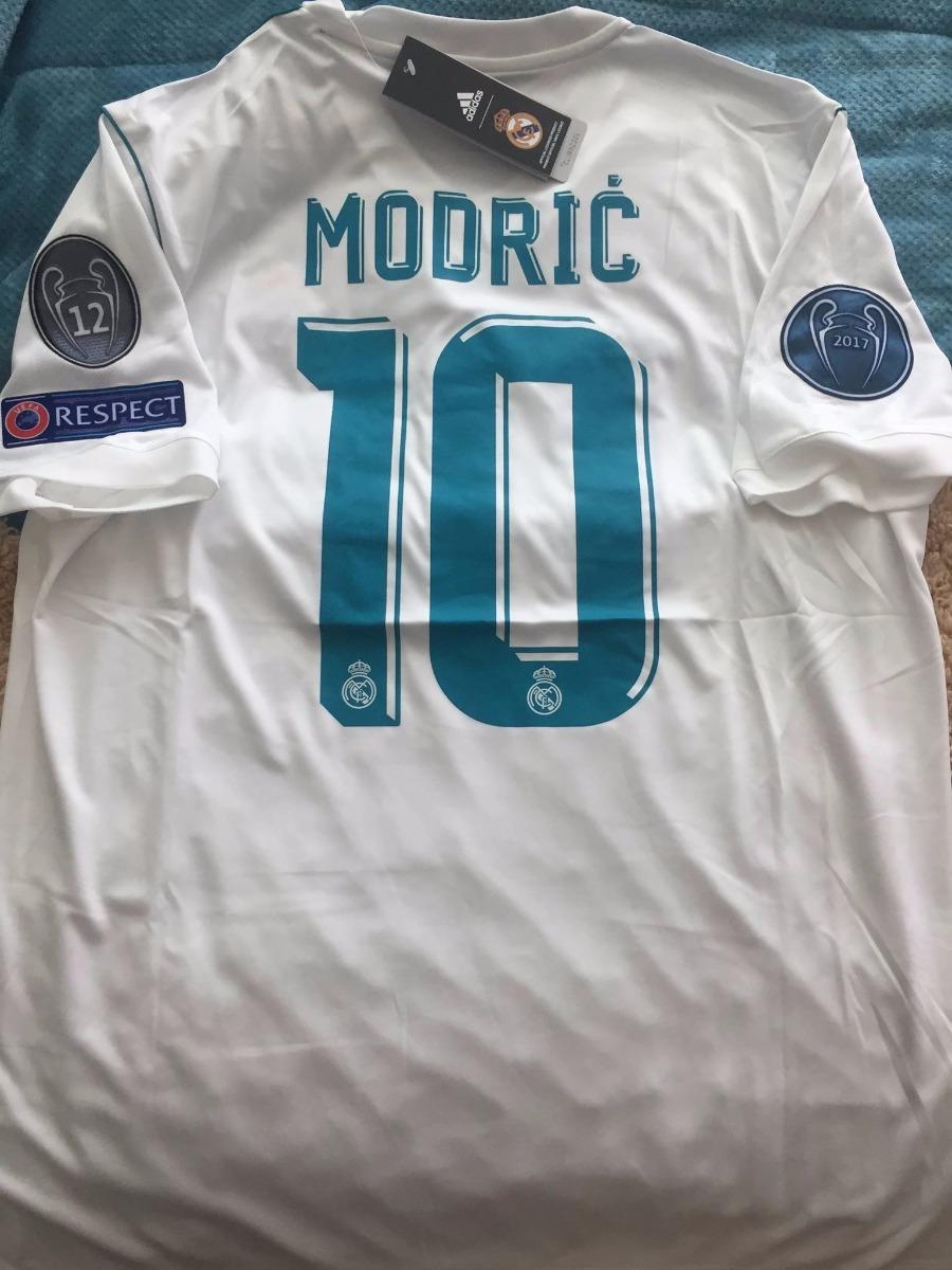 1f6988921e2 jersey adidas real madrid modric 10 champions league. Cargando zoom.
